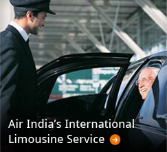 Air India's Limousine Service