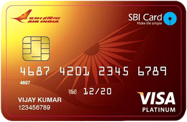 Special schemes air india sbi platinum card reheart Images