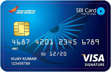 Special schemes air india sbi signature card reheart Images