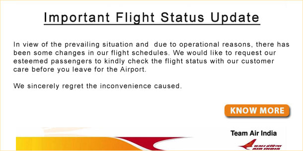 Flight Status Update