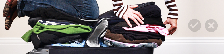 Baggage tips and restricted items