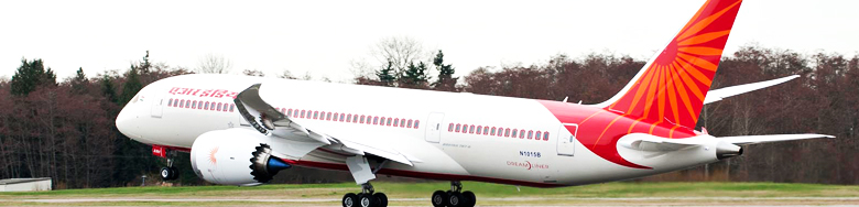 Air India's 787 Boeing Dreamliner - Air India