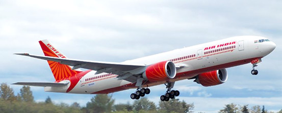 Image result for air india plane