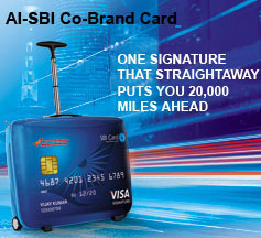 AI - SBI Co-brand Card