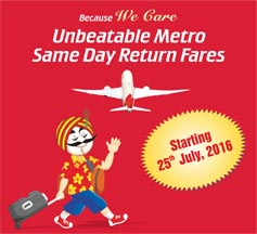 Same Day Return Fares