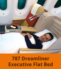 787 Dreamliner Executive Flat Bed